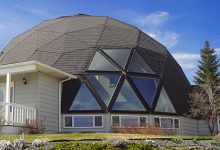 Photo of Specially Built Geodesic Dome Home