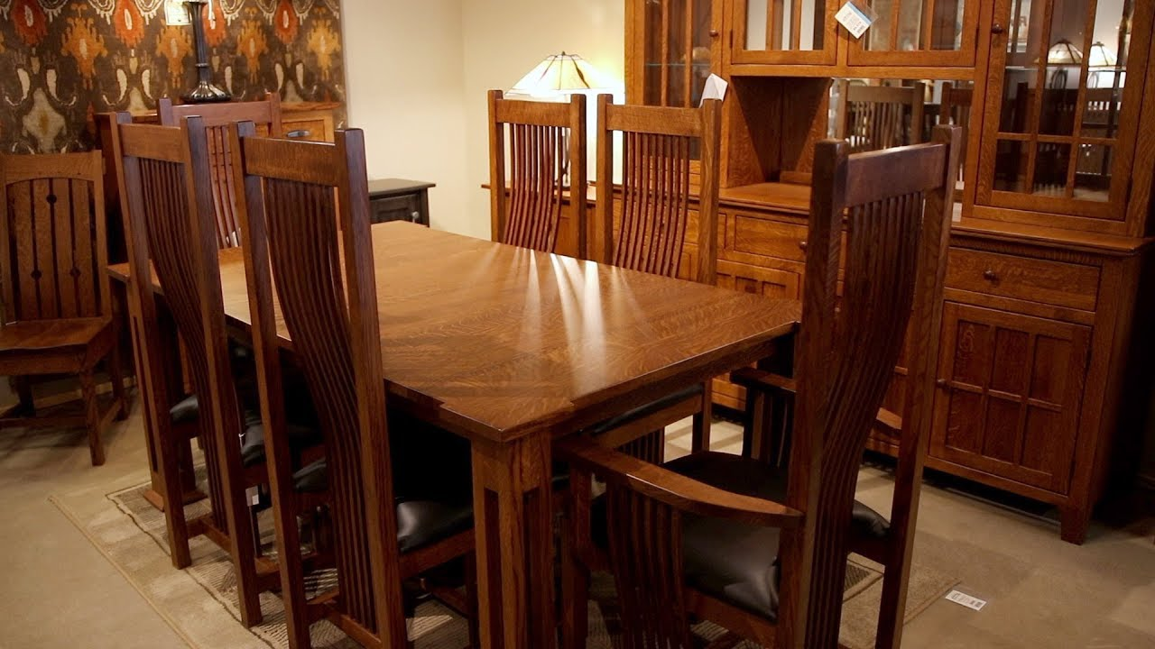 Photo of Amish Furniture and the Mission Furniture Style